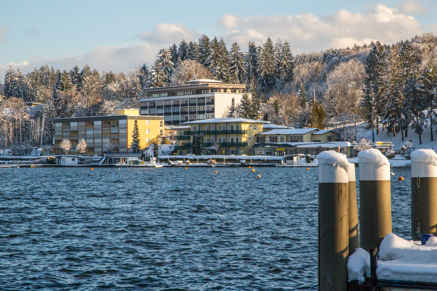 Winter in Velden